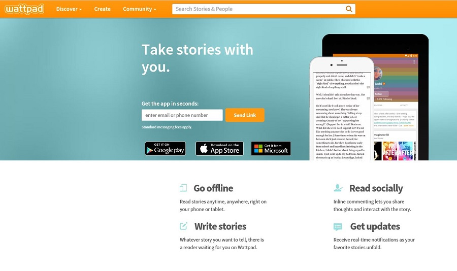 Wattpad Futures adds ads to stories and pays writers a cut